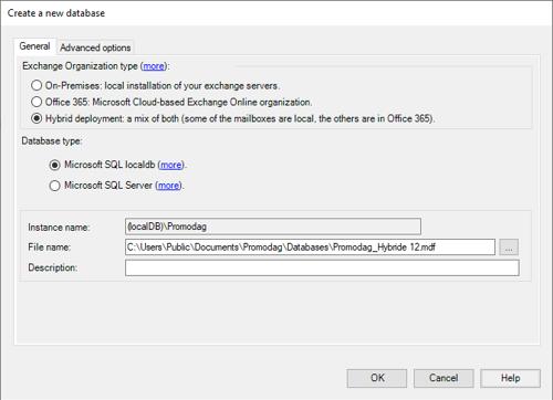 Create an SQL LocalDB database