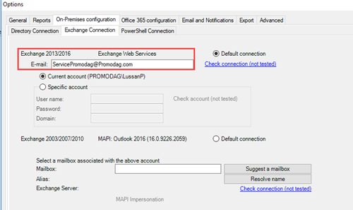 Search the content of Office 365 mailboxes with Promodag Reports
